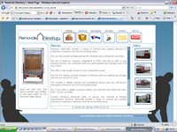Another One Step Ahead website - Removals Newbury